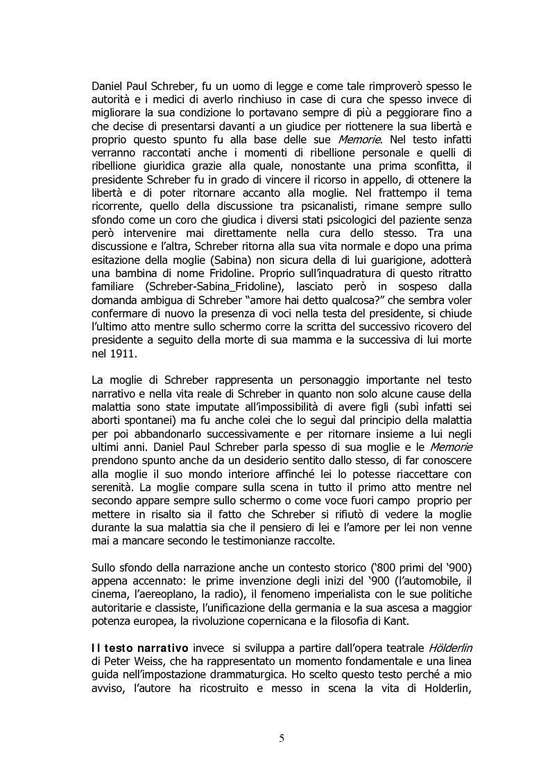 Anteprima della tesi: Analisi di un delirio. Intorno a Schreber, Pagina 4