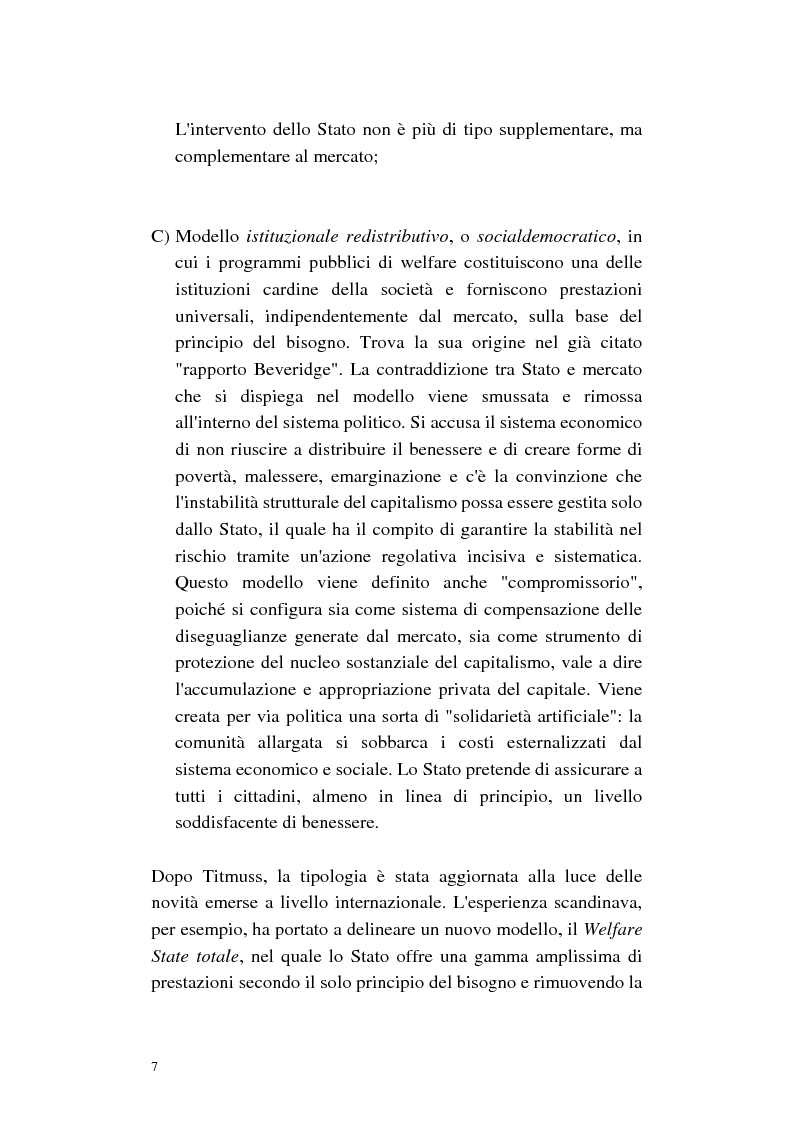 Anteprima della tesi: La cura di comunità come modello operativo di un nuovo sistema dei servizi: uno studio di caso, Pagina 11
