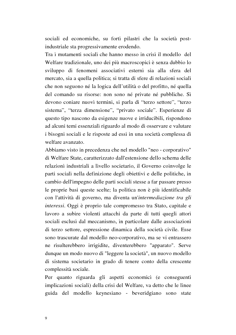 Anteprima della tesi: La cura di comunità come modello operativo di un nuovo sistema dei servizi: uno studio di caso, Pagina 13
