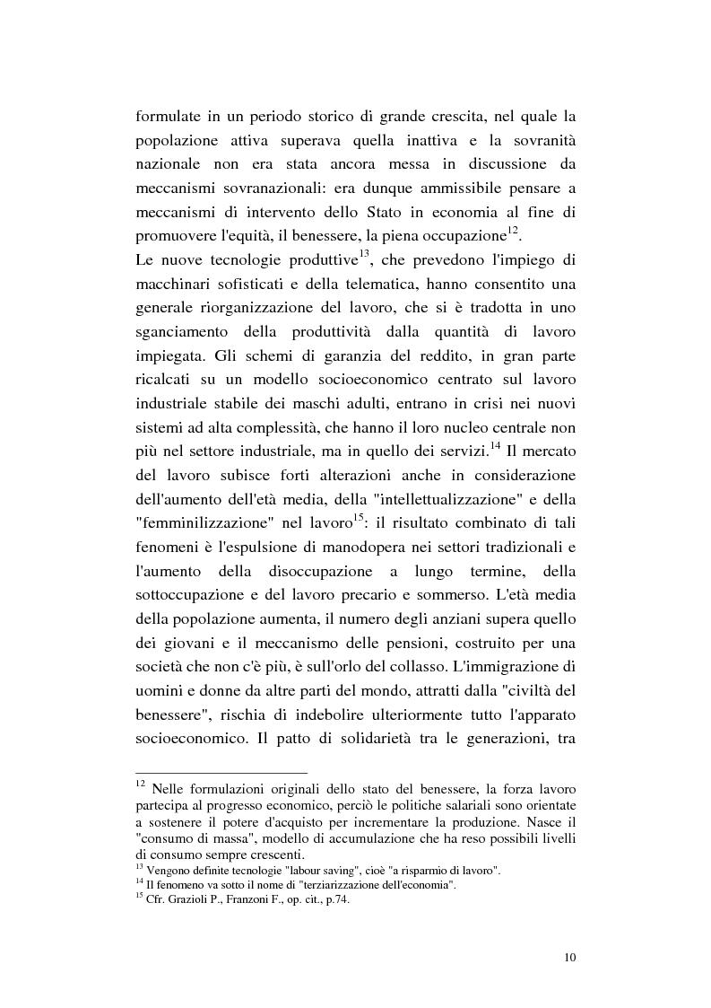 Anteprima della tesi: La cura di comunità come modello operativo di un nuovo sistema dei servizi: uno studio di caso, Pagina 14