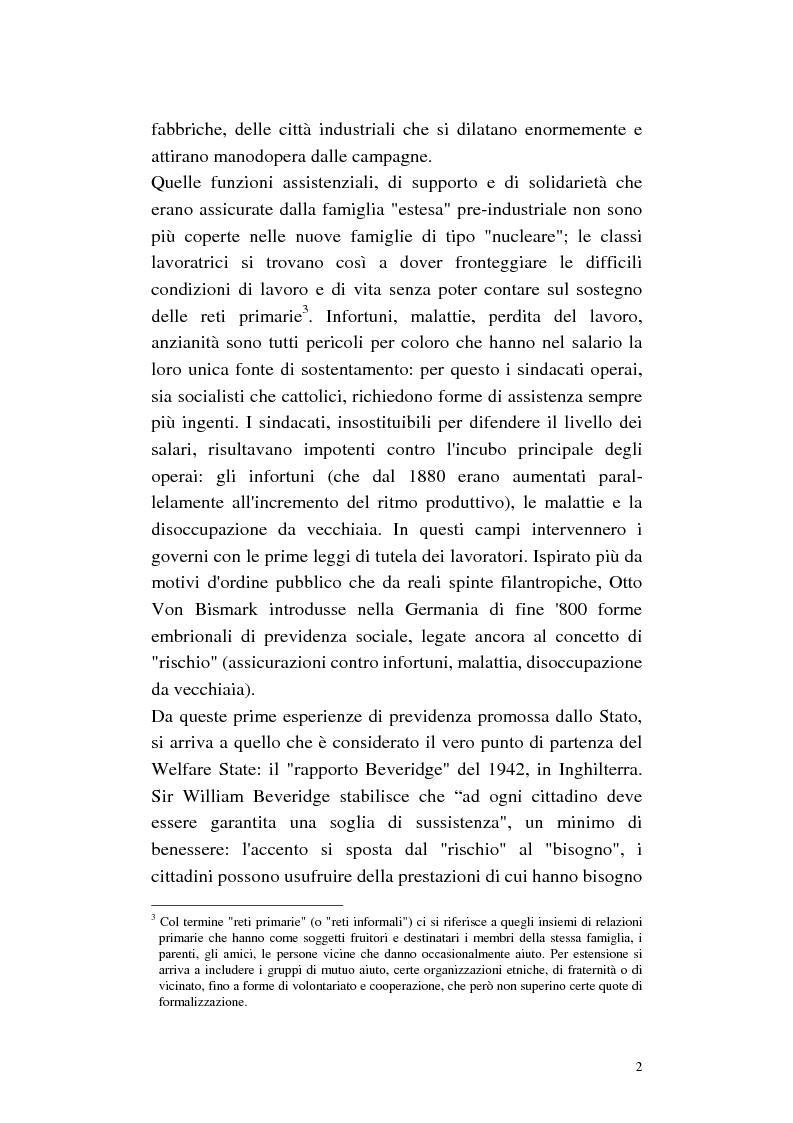 Anteprima della tesi: La cura di comunità come modello operativo di un nuovo sistema dei servizi: uno studio di caso, Pagina 6