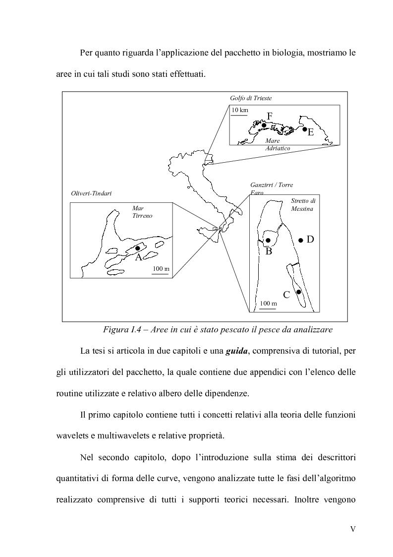 Anteprima della tesi: Forme - Un pacchetto interattivo per l'analisi di curve, Pagina 5