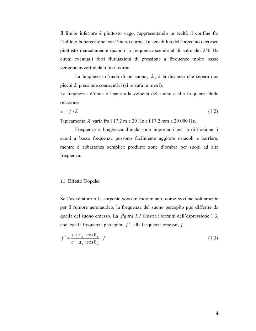 Anteprima della tesi: Aeroporto di Linate: utilizzo dell'Integrated Noise Model per prevedere il rumore generato dai decolli di MD82, Pagina 4