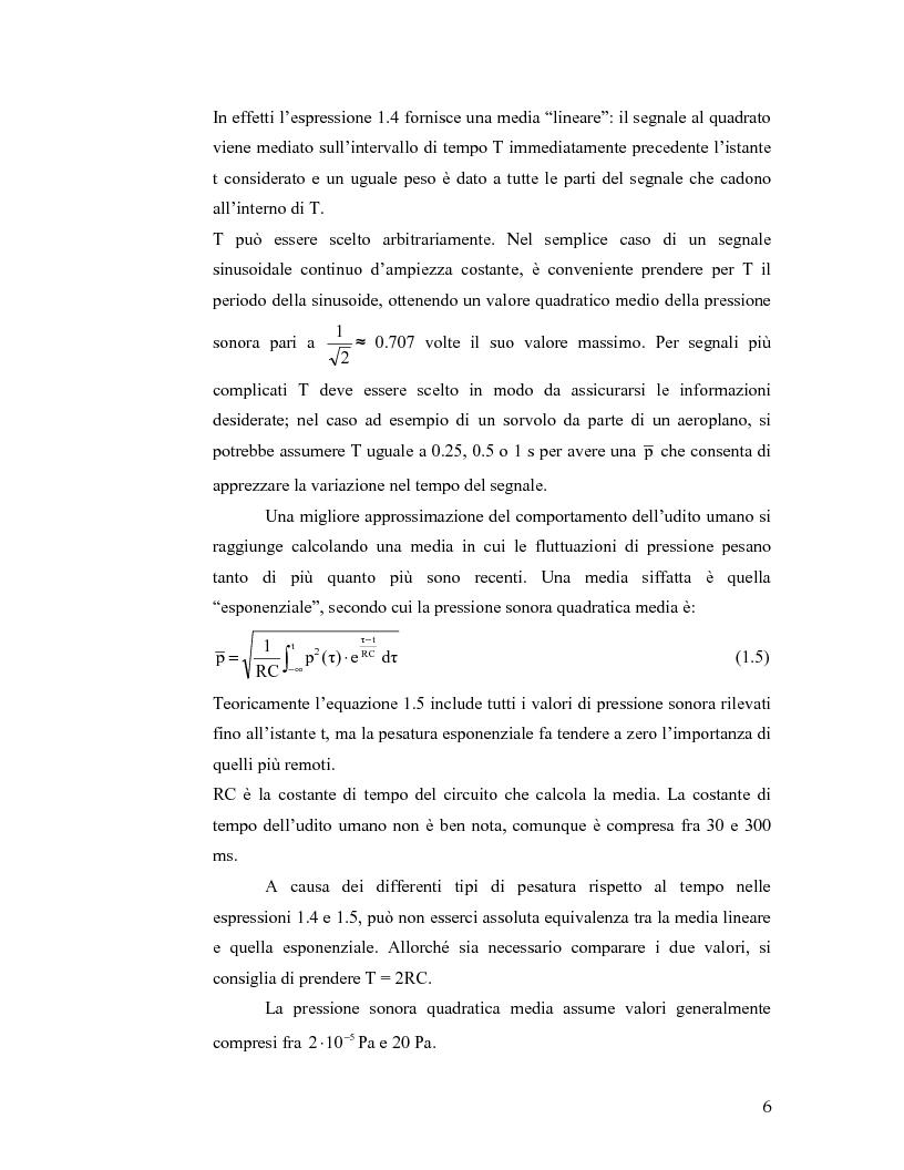 Anteprima della tesi: Aeroporto di Linate: utilizzo dell'Integrated Noise Model per prevedere il rumore generato dai decolli di MD82, Pagina 6