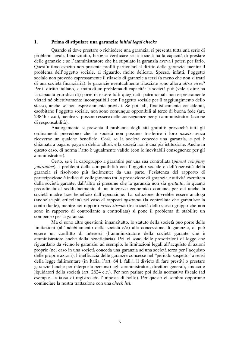 Anteprima della tesi: Le garanzie personali nel diritto civile italiano e nel diritto del commercio internazionale, Pagina 2