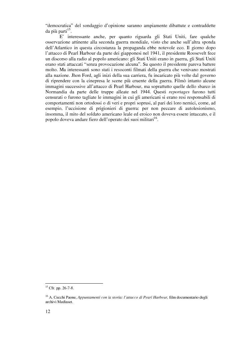 Anteprima della tesi: Comunicazione politica e processo elettorale: uno studio sulle elezioni del 1996 e del 2001, Pagina 11
