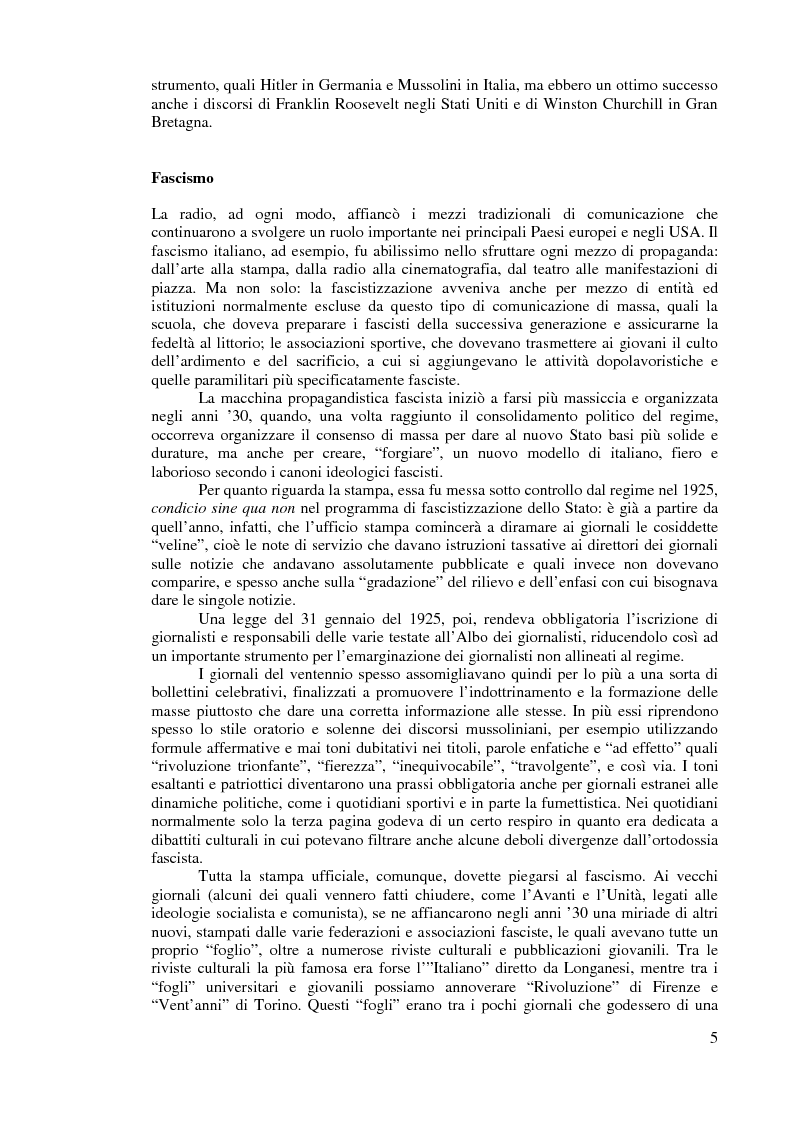 Anteprima della tesi: Comunicazione politica e processo elettorale: uno studio sulle elezioni del 1996 e del 2001, Pagina 4