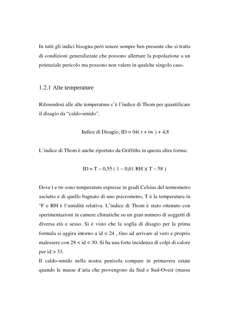 Anteprima della tesi: Fattori meteorologici: impatto su qualità della vita e salute, Pagina 8