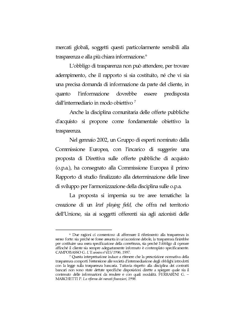Anteprima della tesi: Obblighi di comportamento e responsabilità degli intermediari finanziari, Pagina 13