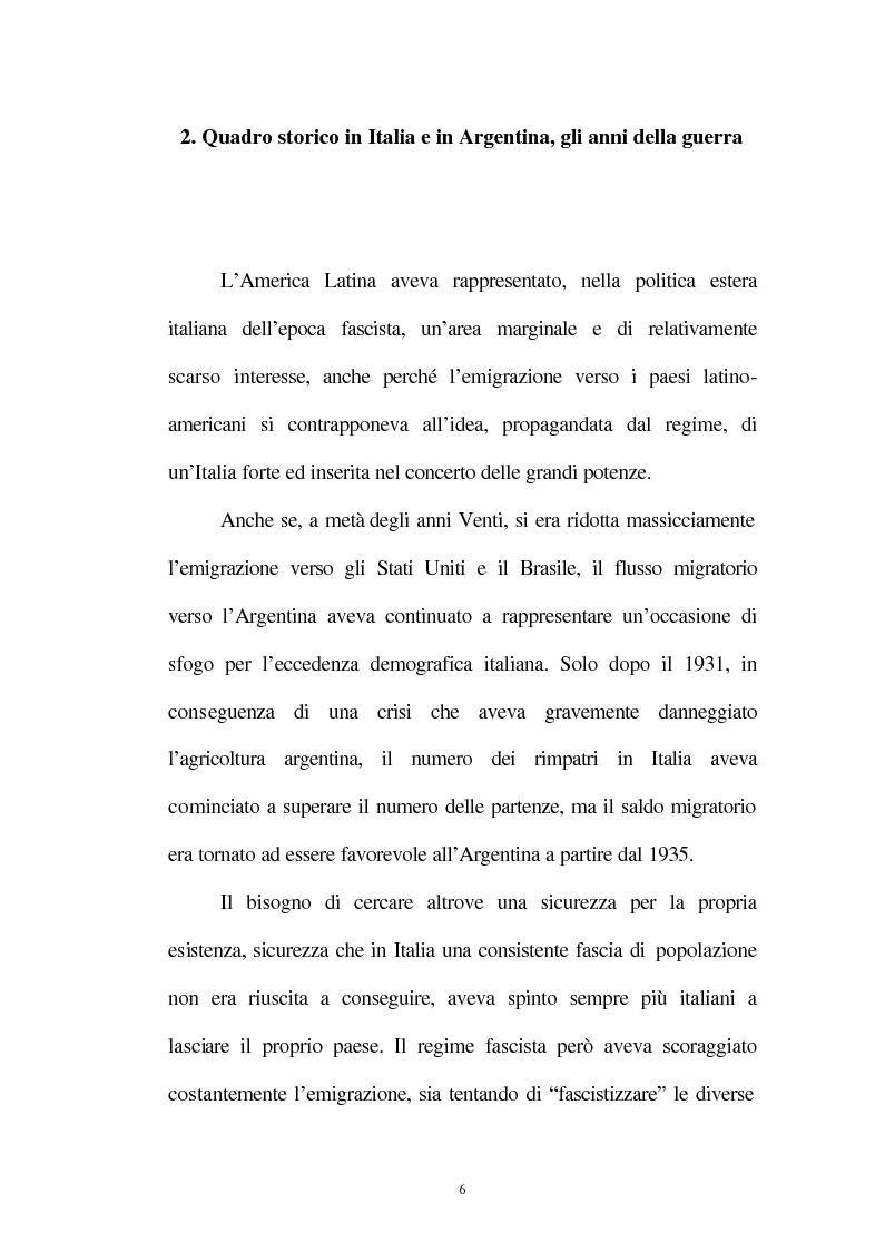 Anteprima della tesi: Le relazioni tra l'Italia e l'Argentina durante i primi anni del governo Peron, 1945-1949, Pagina 3