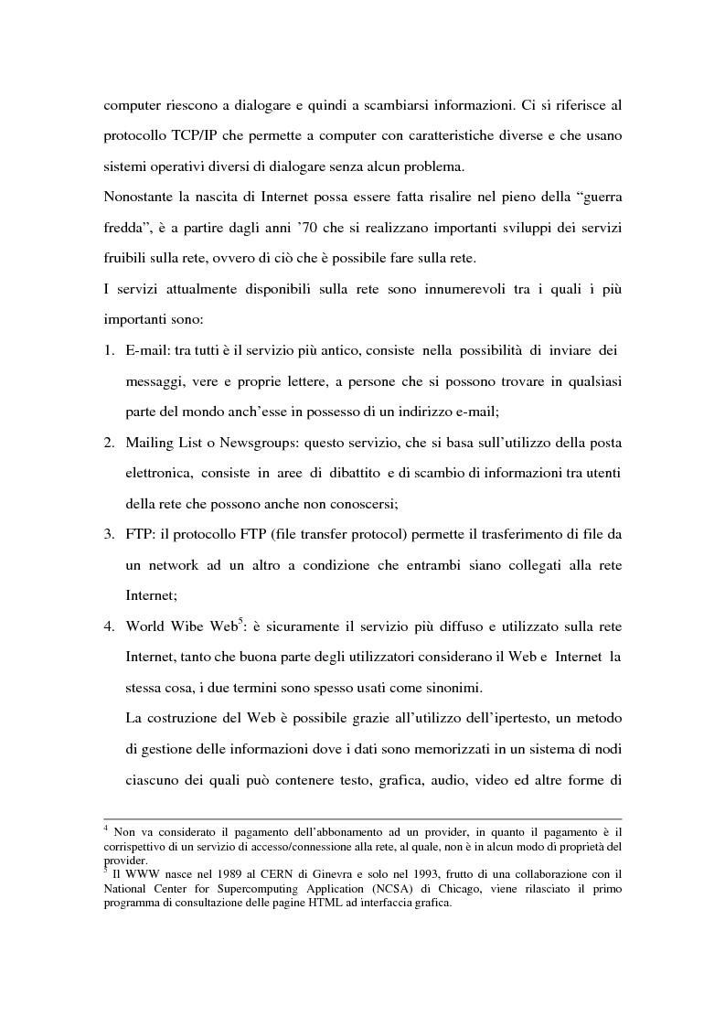 Anteprima della tesi: Il ruolo delle banche nel commercio elettronico, Pagina 10