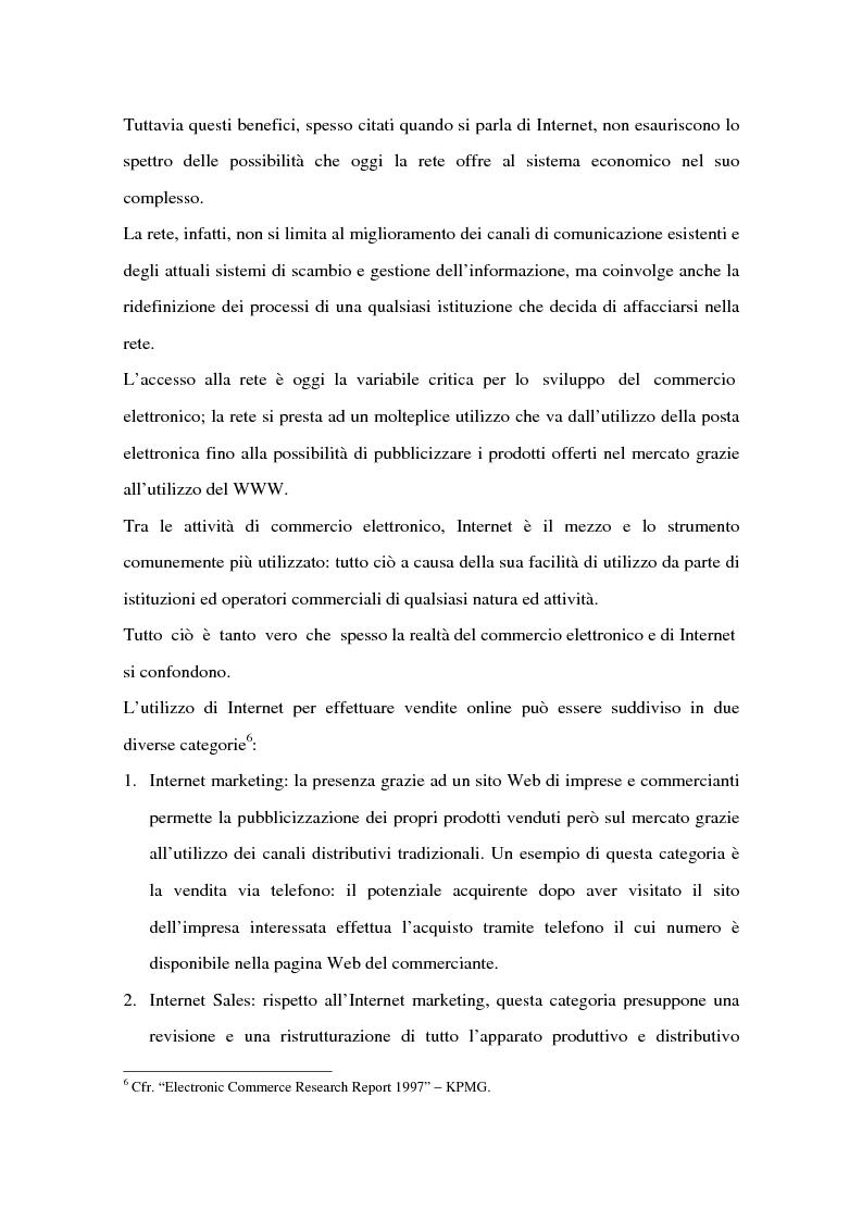 Anteprima della tesi: Il ruolo delle banche nel commercio elettronico, Pagina 12