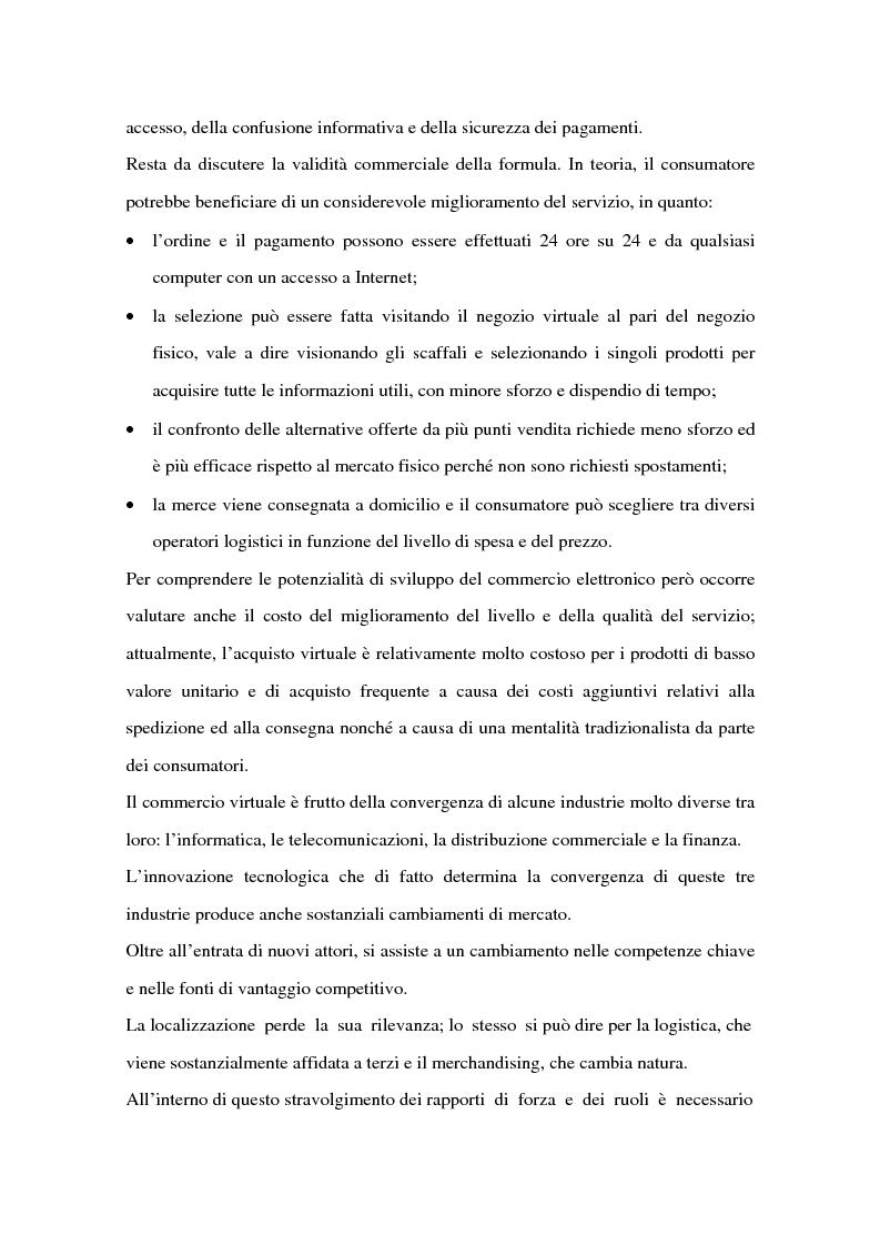 Anteprima della tesi: Il ruolo delle banche nel commercio elettronico, Pagina 7