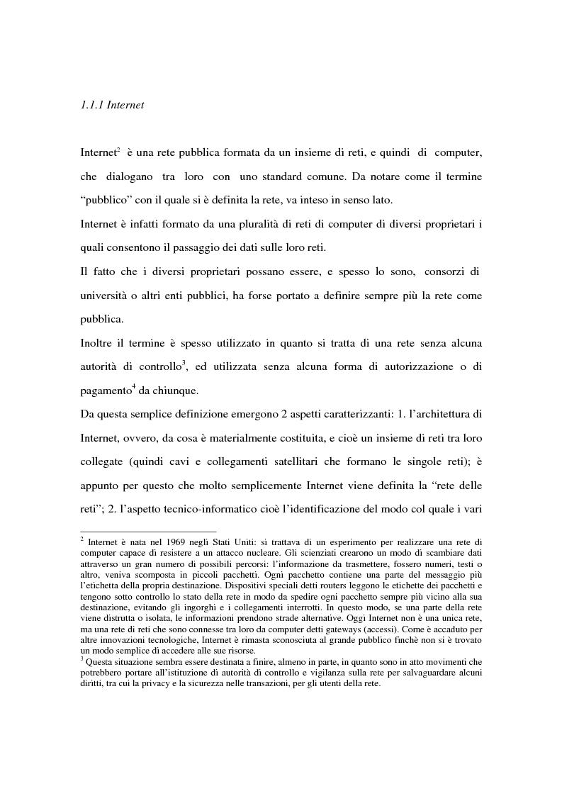Anteprima della tesi: Il ruolo delle banche nel commercio elettronico, Pagina 9