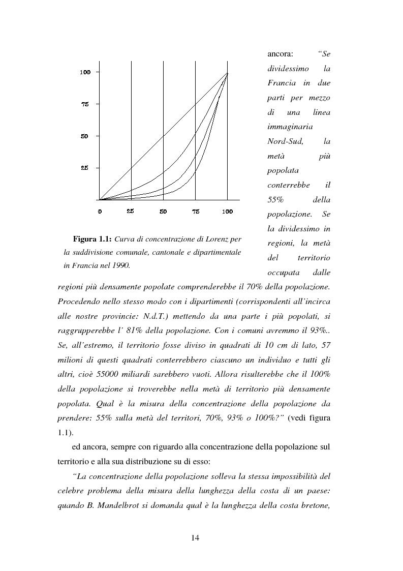 Anteprima della tesi: Proiezioni demografico-sociali per microaree: studio di fattibilità per il Comune di Vicenza, Pagina 14