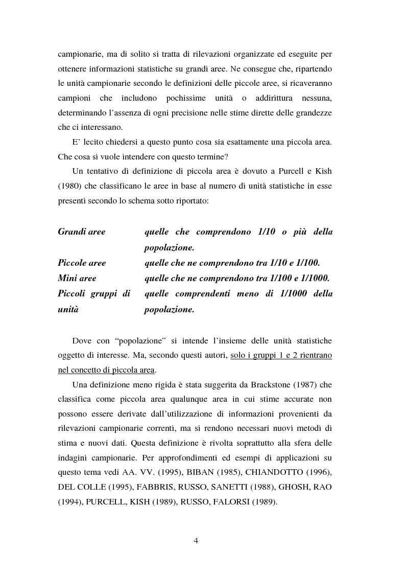 Anteprima della tesi: Proiezioni demografico-sociali per microaree: studio di fattibilità per il Comune di Vicenza, Pagina 4
