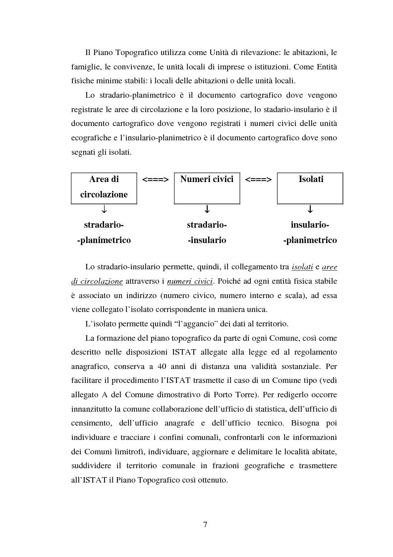 Anteprima della tesi: Proiezioni demografico-sociali per microaree: studio di fattibilità per il Comune di Vicenza, Pagina 7