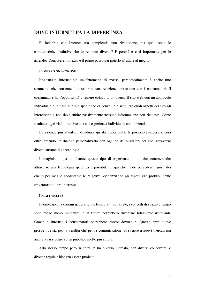 Anteprima della tesi: La valutazione dell'efficacia dei siti web, Pagina 2