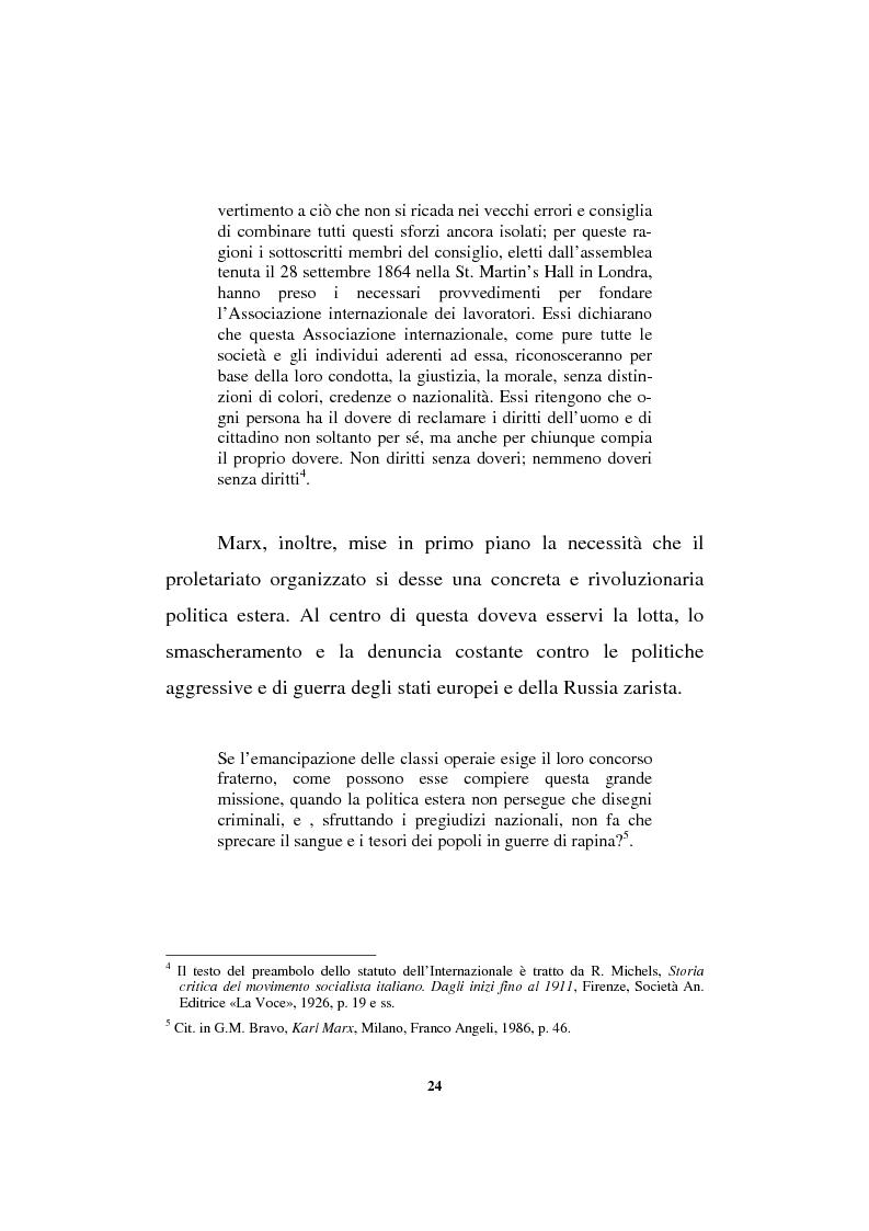 Anteprima della tesi: Il sindacalismo europeo. Dalle premesse storiche alla Confederazione europea dei sindacati., Pagina 12