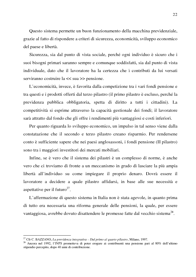 Estratto dalla tesi: Autonomia collettiva e fondi pensione
