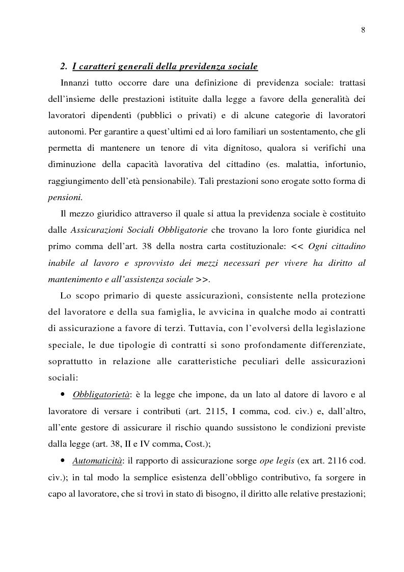 Anteprima della tesi: Autonomia collettiva e fondi pensione, Pagina 5