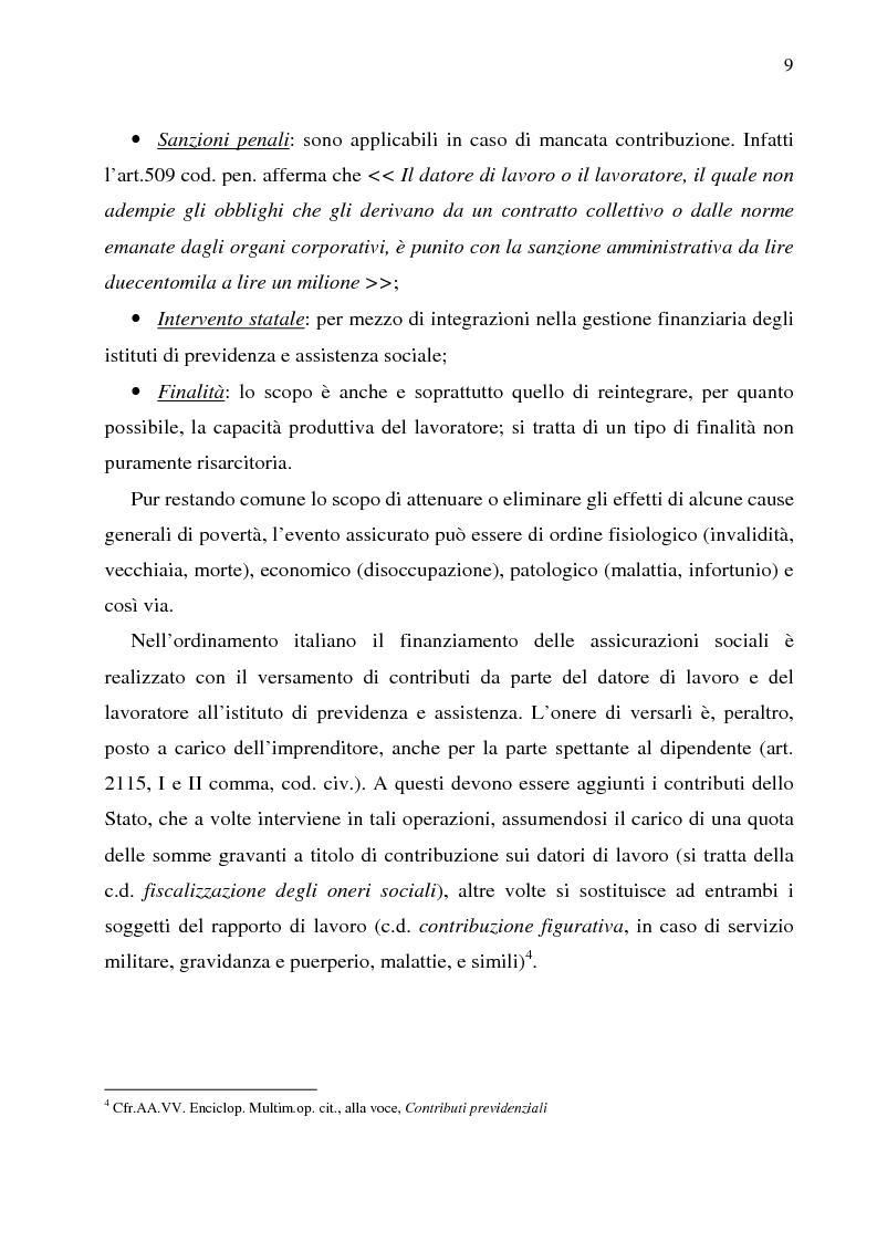 Anteprima della tesi: Autonomia collettiva e fondi pensione, Pagina 6