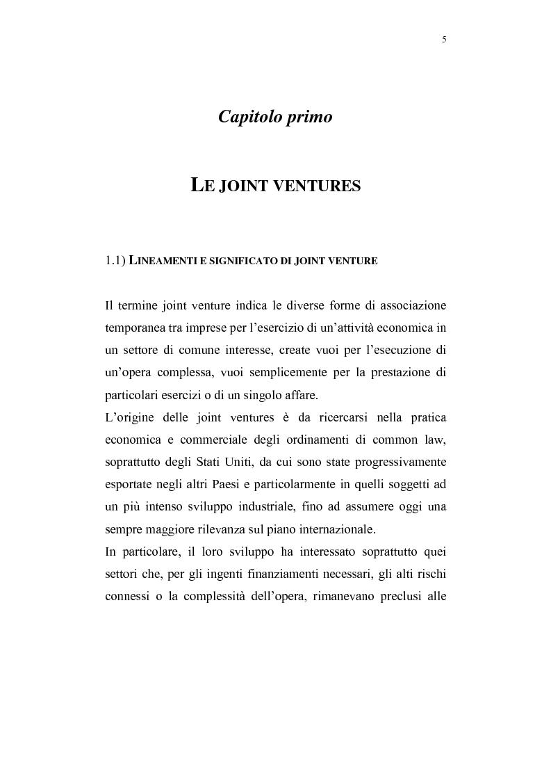 Anteprima della tesi: La costituzione di joint ventures miste con i paesi PECO, Pagina 1