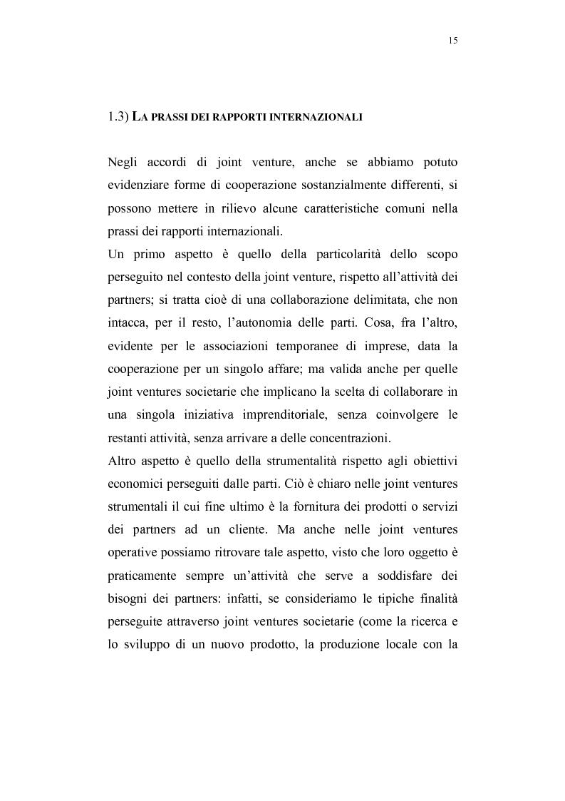 Anteprima della tesi: La costituzione di joint ventures miste con i paesi PECO, Pagina 11