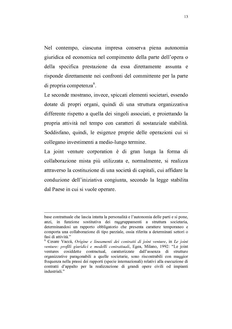 Anteprima della tesi: La costituzione di joint ventures miste con i paesi PECO, Pagina 9