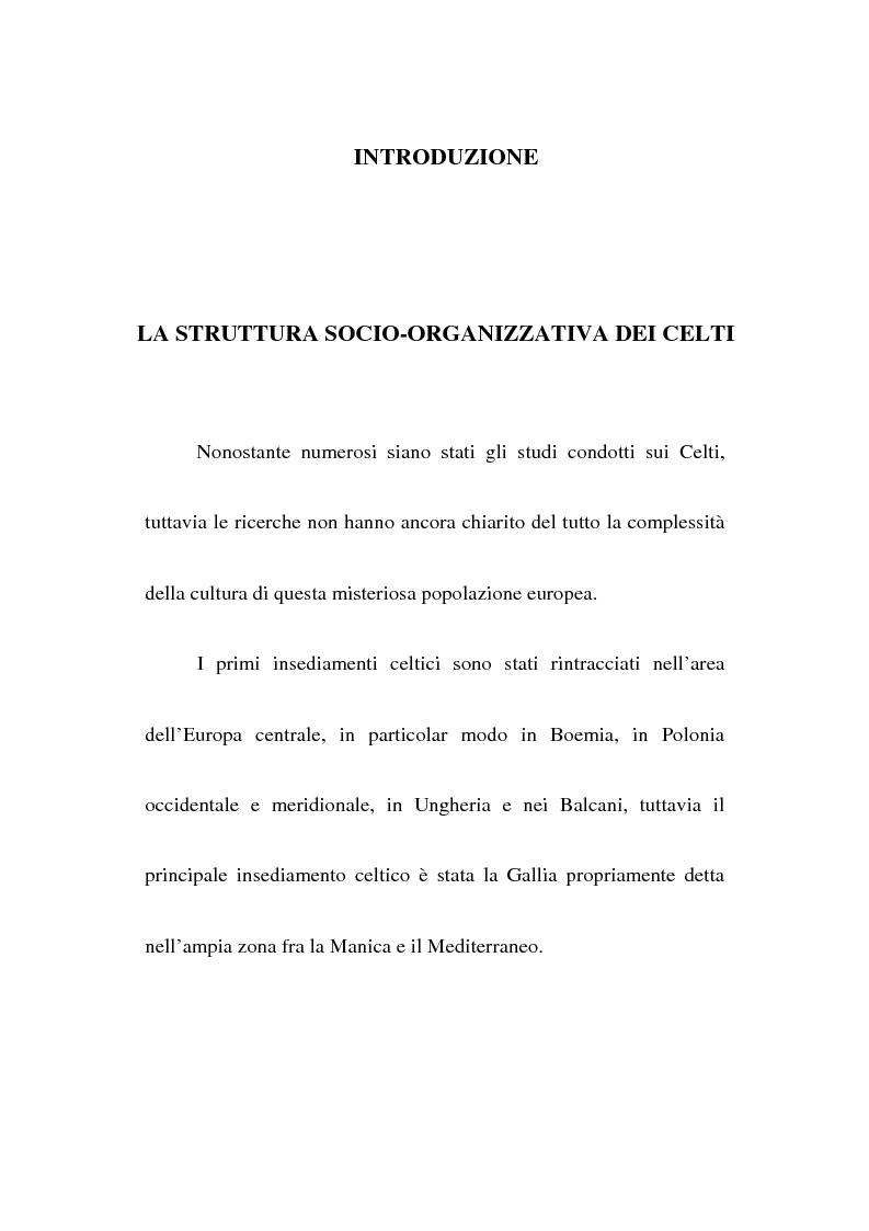 Anteprima della tesi: L'Europa precristiana e il sistema filosofico-religioso dei Celti, Pagina 1