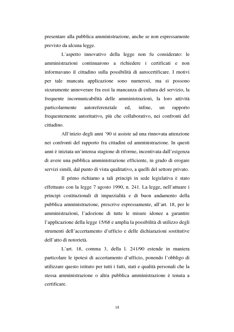 Anteprima della tesi: La semplificazione del procedimento di pubblico appalto, Pagina 13