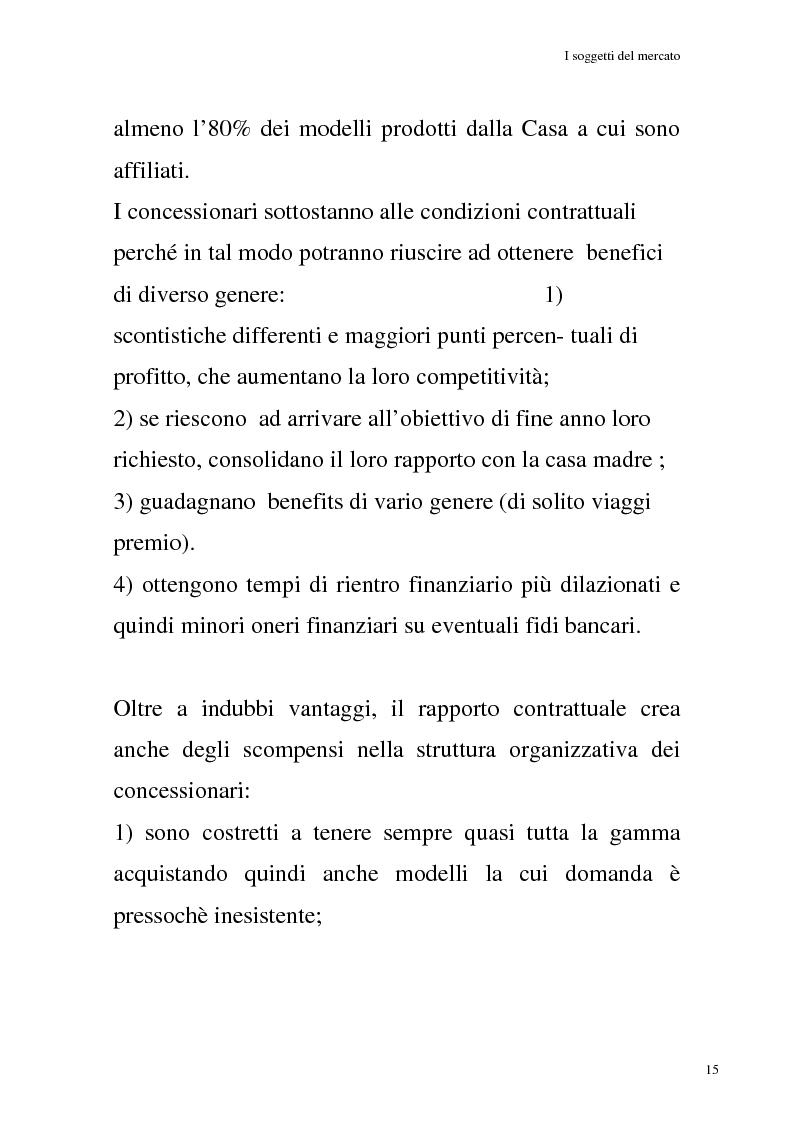 Anteprima della tesi: La commercializzazione delle moto in Italia e gli effetti della rottamazione sui C/F, Pagina 11