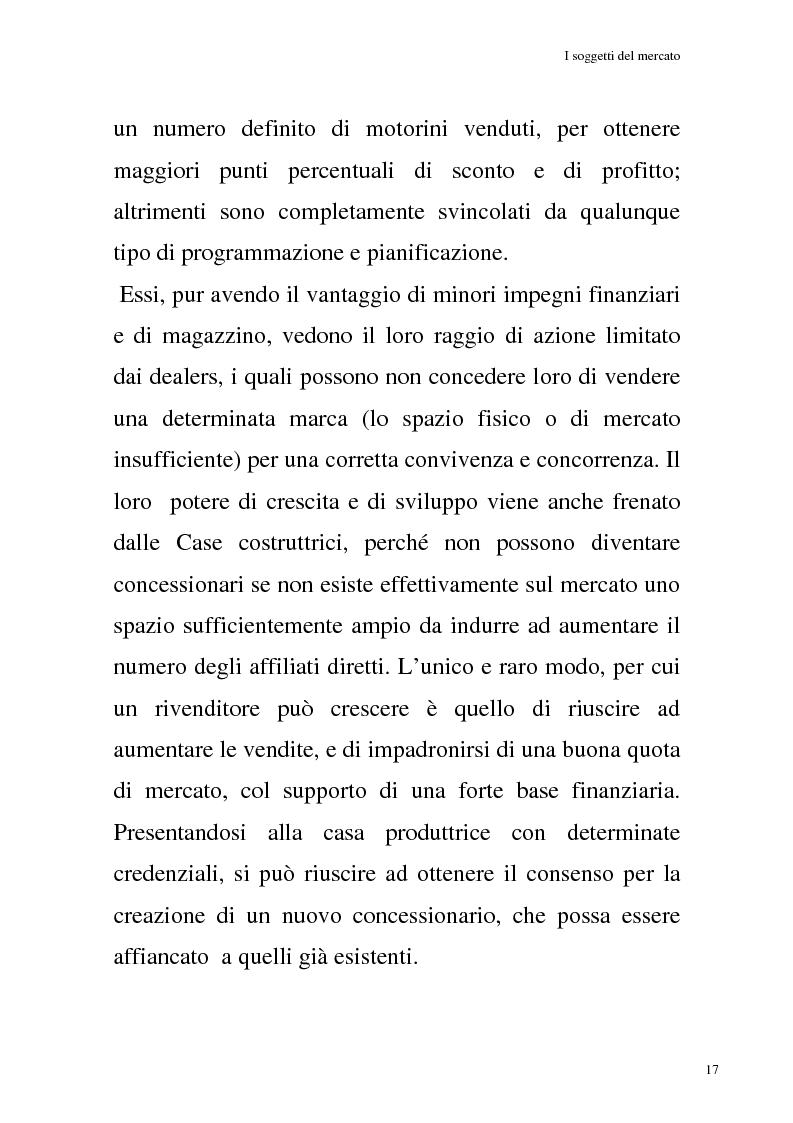 Anteprima della tesi: La commercializzazione delle moto in Italia e gli effetti della rottamazione sui C/F, Pagina 13