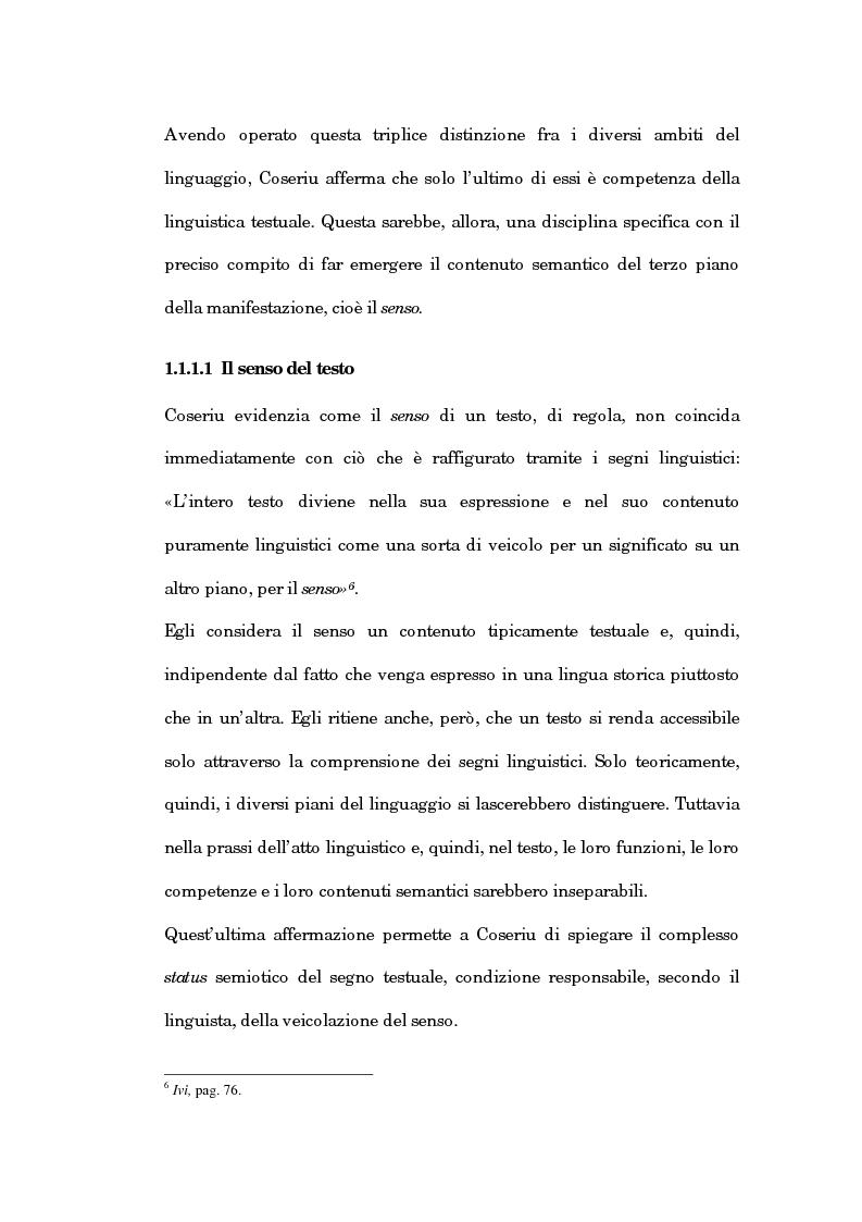 Anteprima della tesi: Un'analisi linguistica dello spazio ipertestuale, Pagina 15