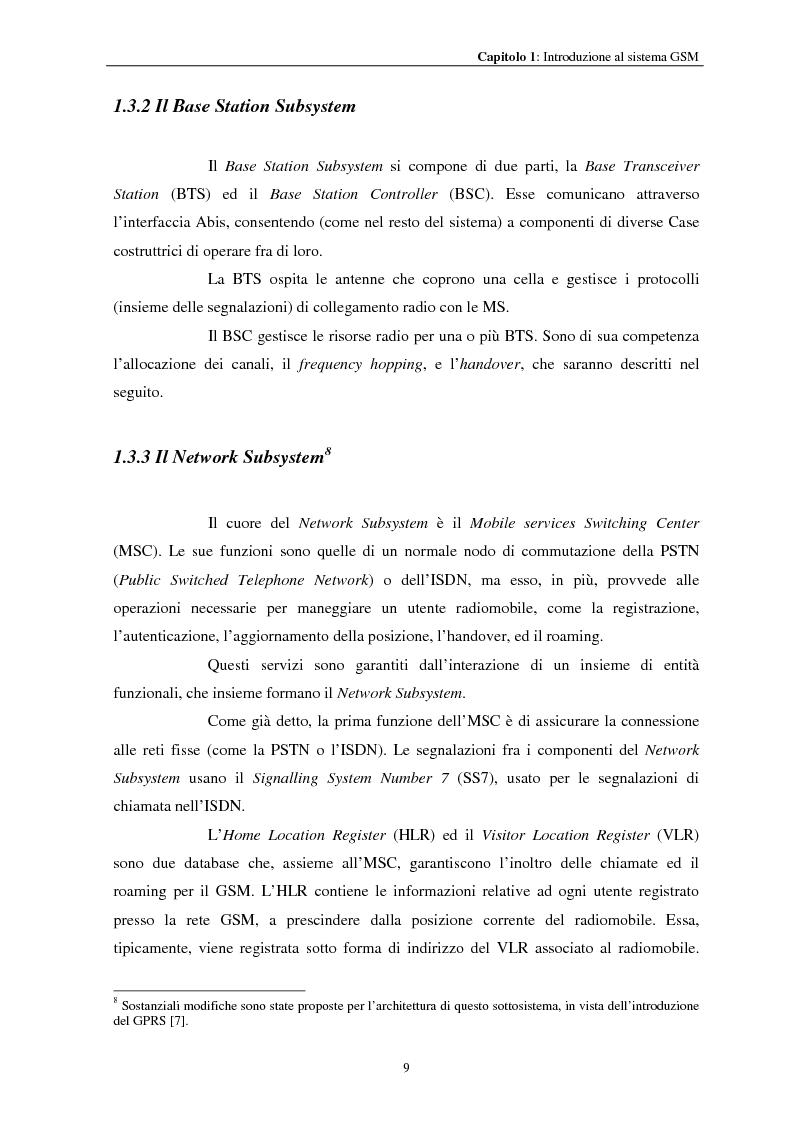 Anteprima della tesi: Misure a radiofrequenza per la verifica di conformità di terminali mobili GSM: aspetti normativi e nuove proposte, Pagina 12