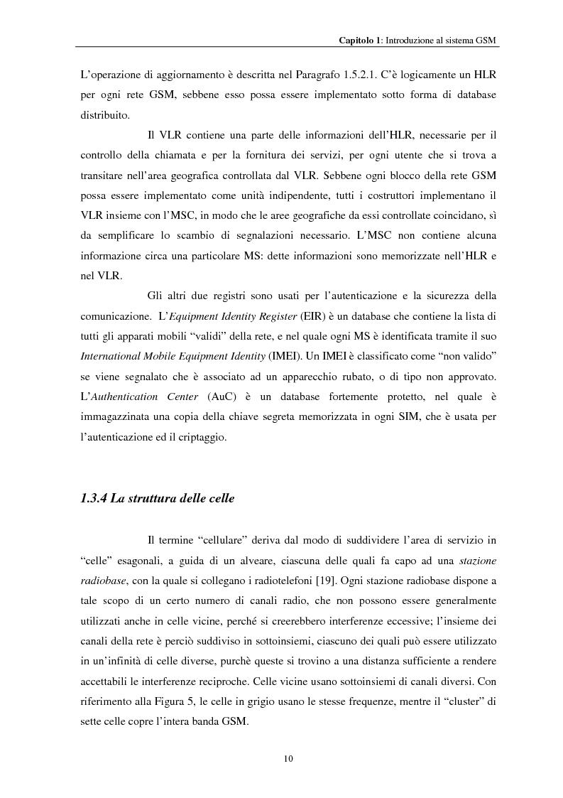 Anteprima della tesi: Misure a radiofrequenza per la verifica di conformità di terminali mobili GSM: aspetti normativi e nuove proposte, Pagina 13
