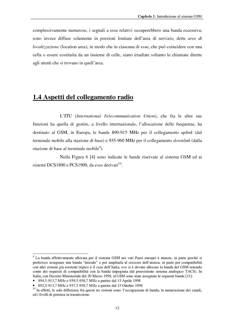 Anteprima della tesi: Misure a radiofrequenza per la verifica di conformità di terminali mobili GSM: aspetti normativi e nuove proposte, Pagina 15