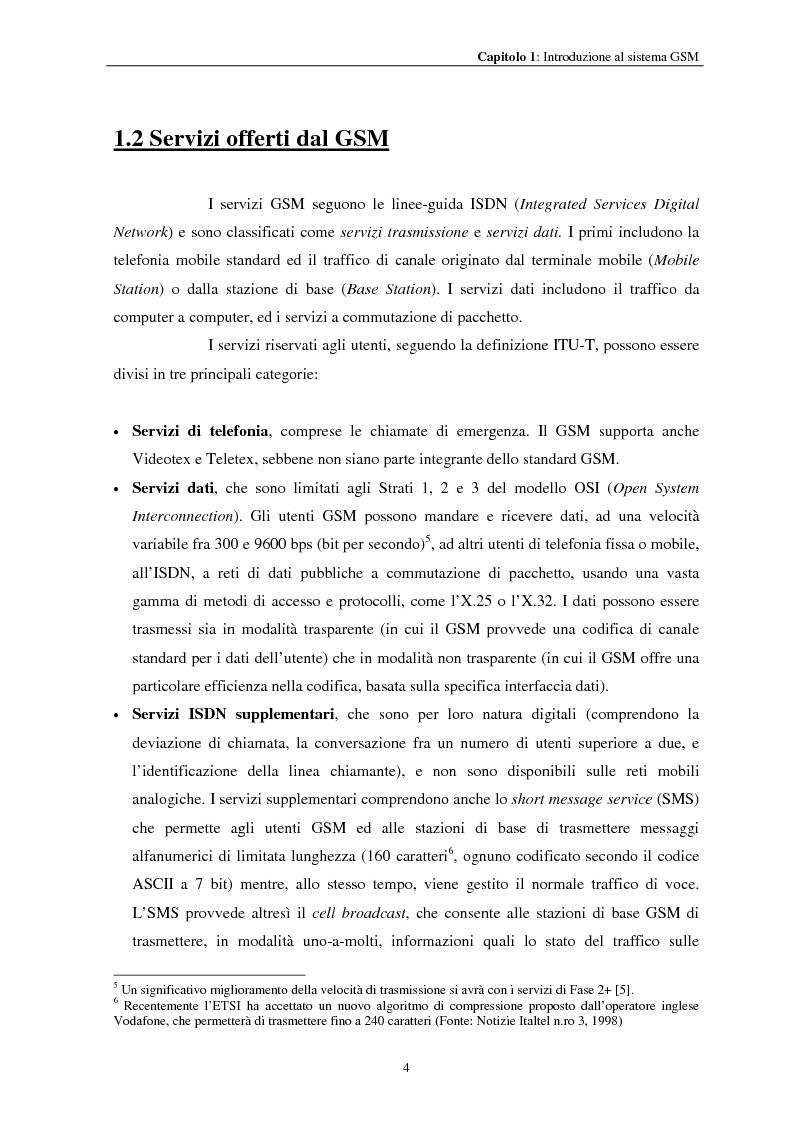 Anteprima della tesi: Misure a radiofrequenza per la verifica di conformità di terminali mobili GSM: aspetti normativi e nuove proposte, Pagina 7