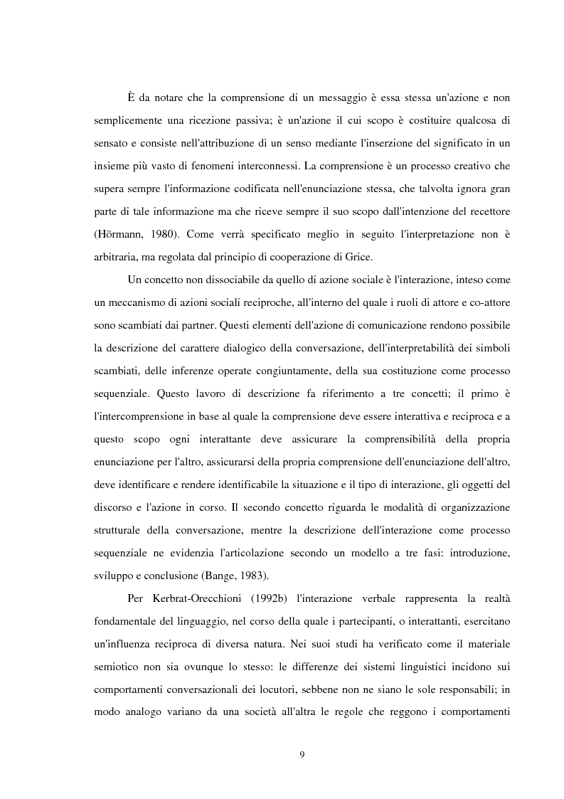Anteprima della tesi: Analisi delle conversazioni di interazione in ambienti virtuali, Pagina 5