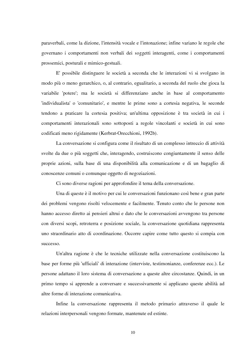 Anteprima della tesi: Analisi delle conversazioni di interazione in ambienti virtuali, Pagina 6