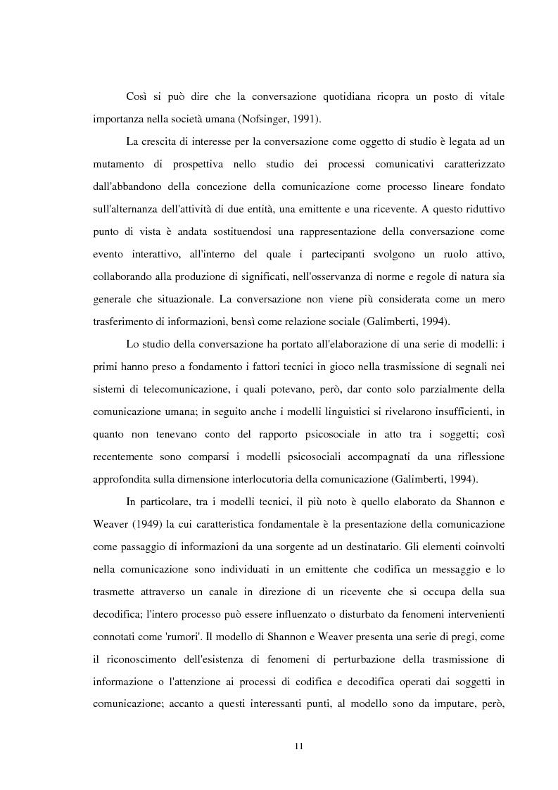Anteprima della tesi: Analisi delle conversazioni di interazione in ambienti virtuali, Pagina 7
