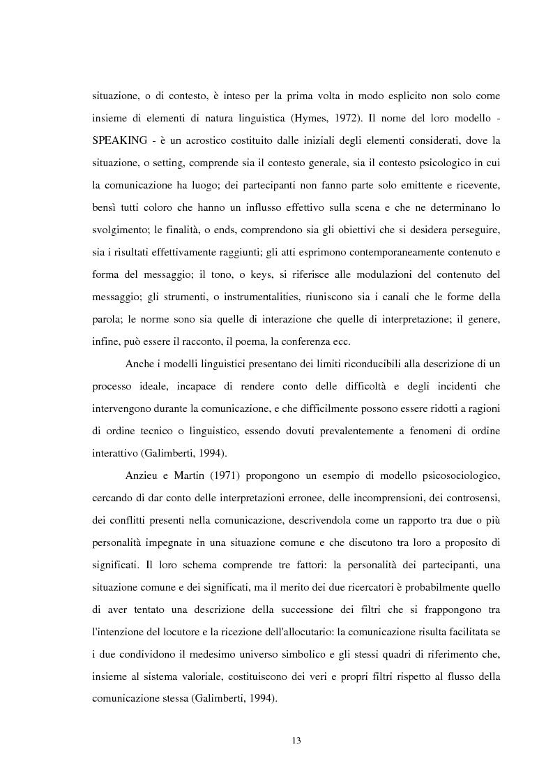 Anteprima della tesi: Analisi delle conversazioni di interazione in ambienti virtuali, Pagina 9