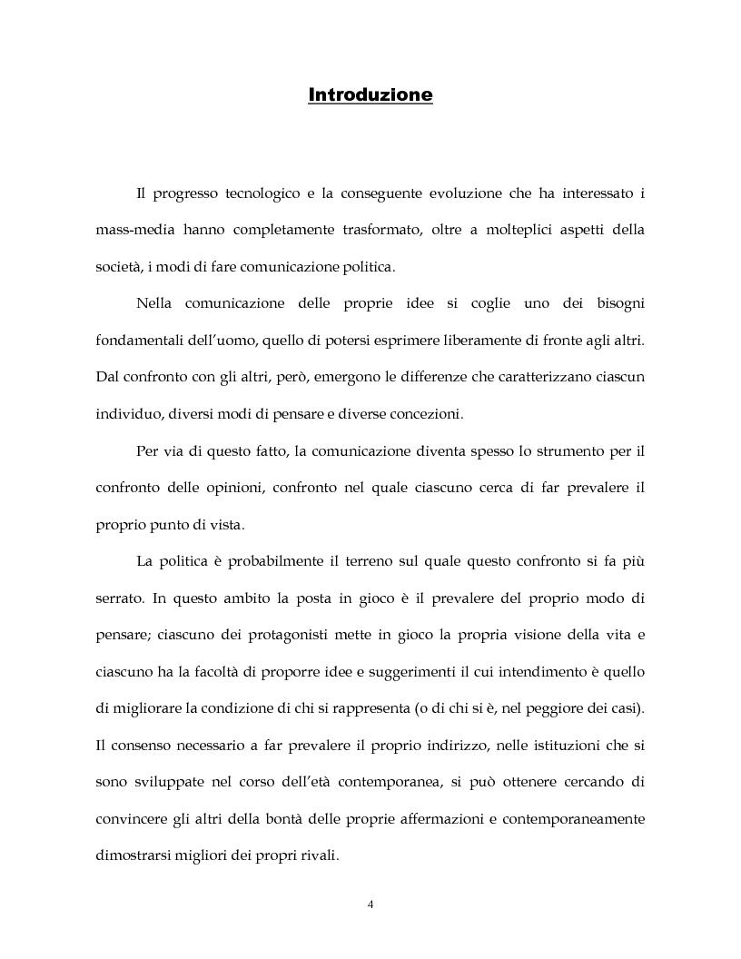 Anteprima della tesi: La costruzione simbolica del nemico nella comunicazione politica, Pagina 1
