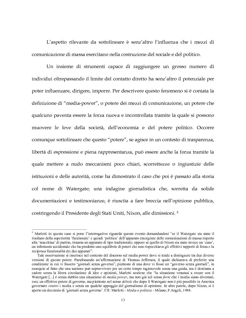 Anteprima della tesi: La costruzione simbolica del nemico nella comunicazione politica, Pagina 10