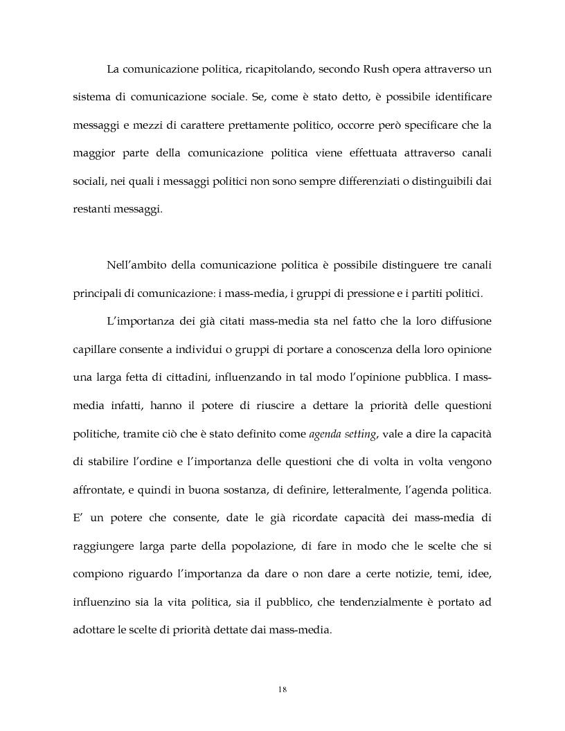 Anteprima della tesi: La costruzione simbolica del nemico nella comunicazione politica, Pagina 15