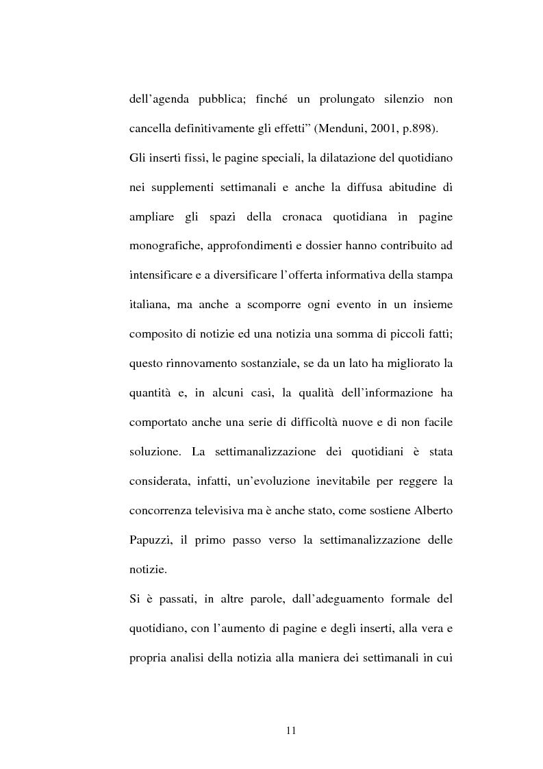 Anteprima della tesi: L'attesa mediatica: il G8 di Genova nella stampa italiana, Pagina 8