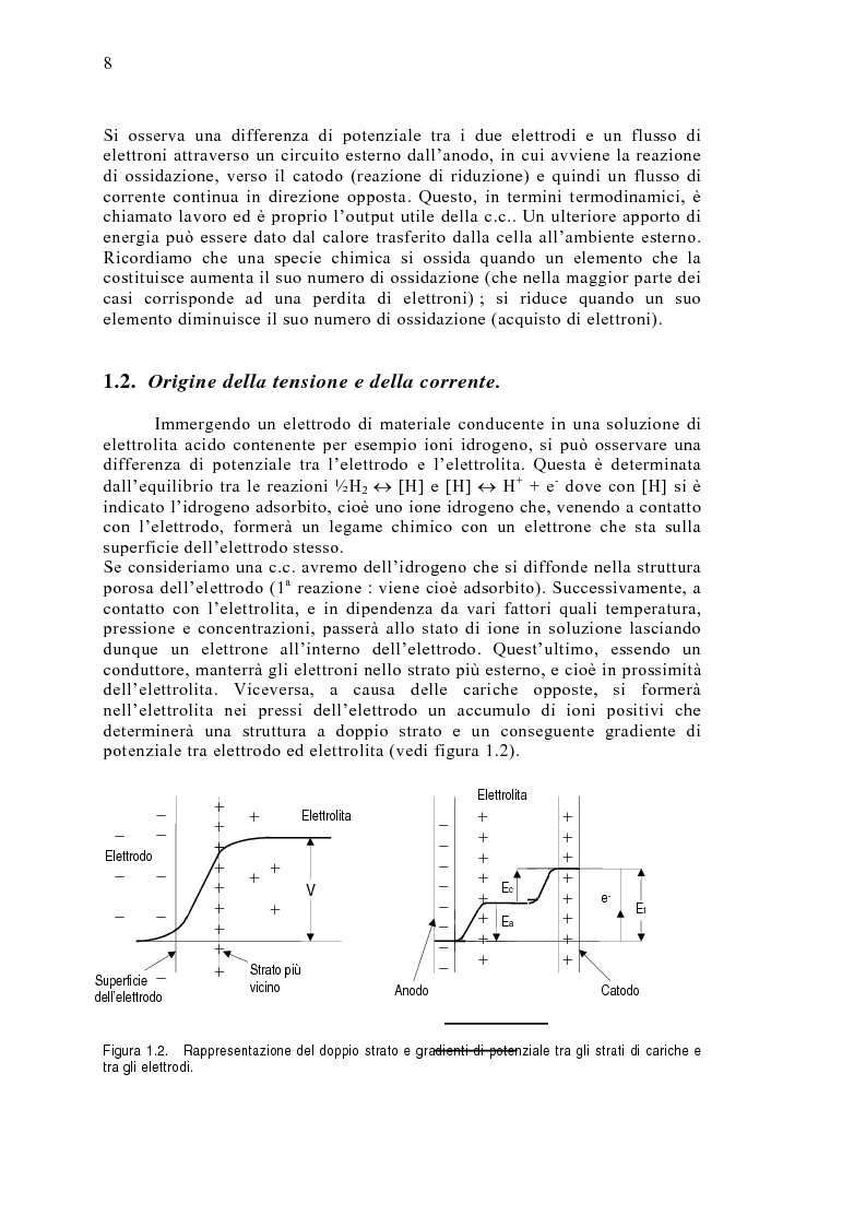 Anteprima della tesi: Le celle a combustibile: analisi tecnico-economica, Pagina 6