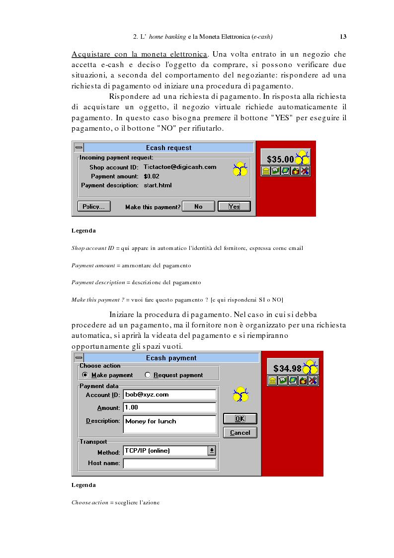 Anteprima della tesi: L'home banking e la presenza delle banche in Internet, Pagina 10