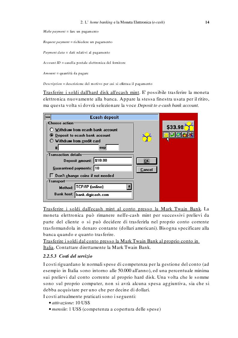Anteprima della tesi: L'home banking e la presenza delle banche in Internet, Pagina 11