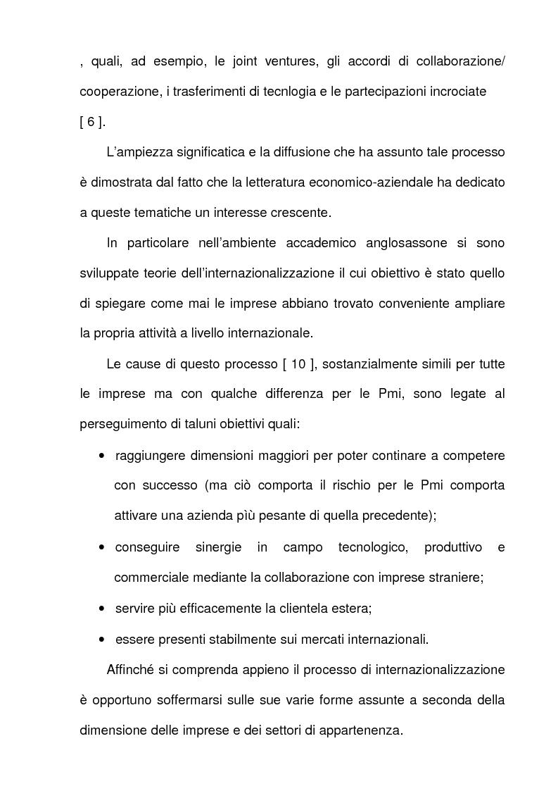 Anteprima della tesi: L'azione dell'Unione Europea a favore delle Piccole e Medie Imprese, Pagina 10